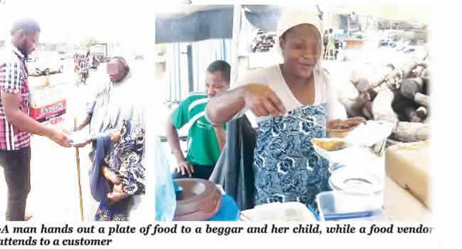 Nigerians are now exchanging their kids, clothes for food to survive hard times