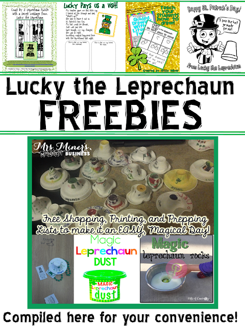 https://www.teacherspayteachers.com/Product/Lucky-the-Leprechaun-Freebie-Compilation-2442587