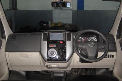 Interior Daihatsu Luxio Facelift