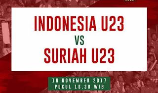 Susunan Pemain Timnas Indonesia U-23 vs Suriah U-23