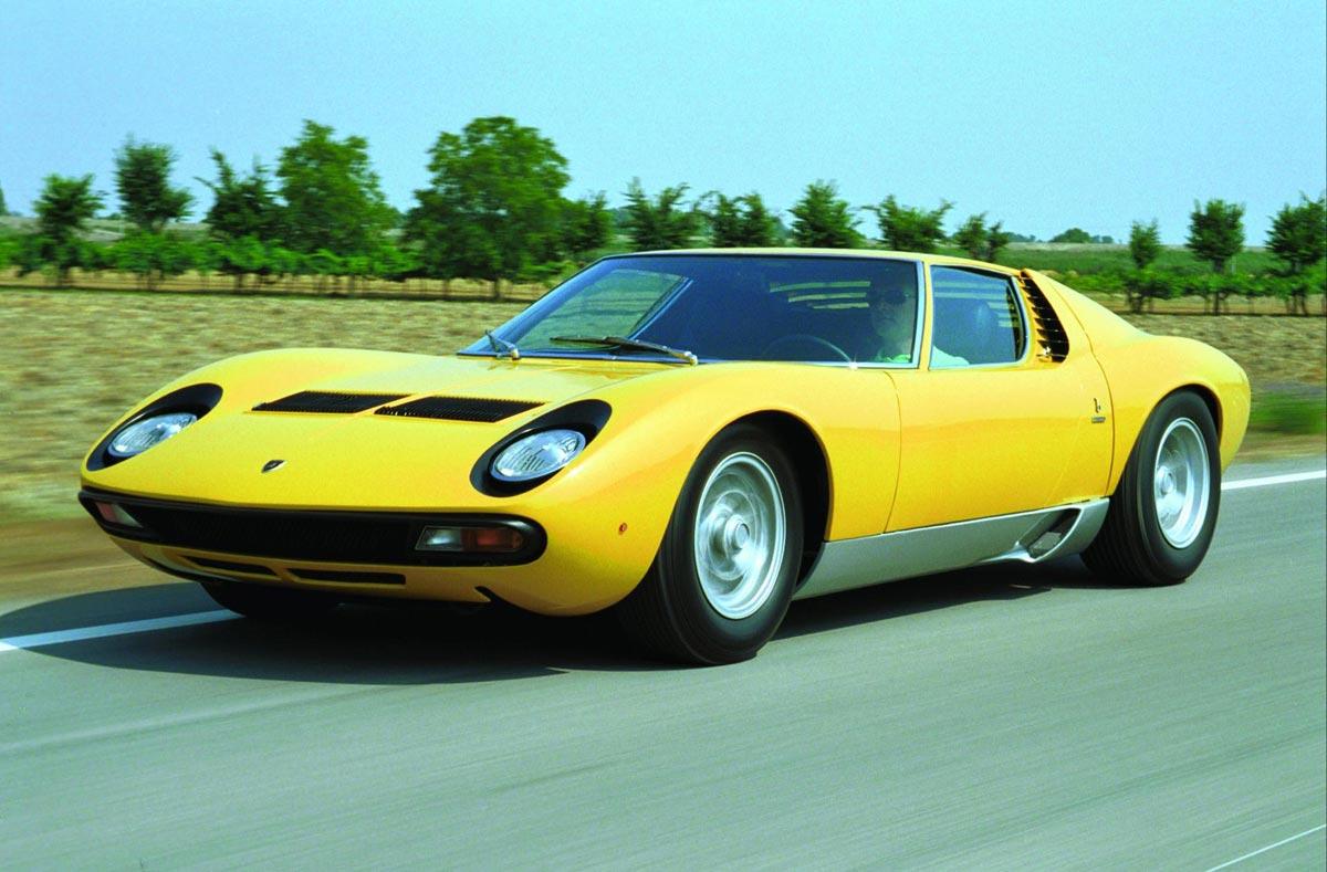 Automobile News Lamborghini Old Models