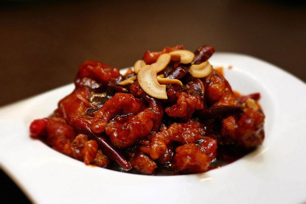 Wok-Fried Chicken Cashew and Sun-Dried Chili