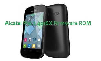 Alcatel Pixi 2 4016X Firmware ROM