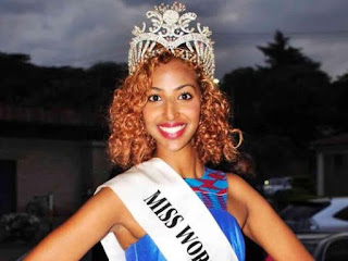 Roshanara Ebraham Miss world Kenya winner stripped of her crown