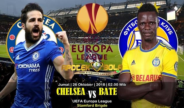 Prediksi Chelsea vs BATE Borisov 26 Oktober 2018