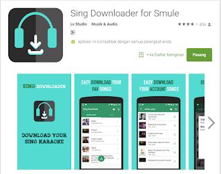 Cara Download Lagu Dari Smule Mudah dan Cepat