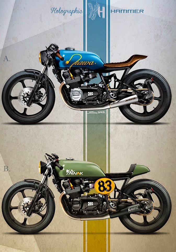 Gpz 400 Cafe Racer Idea De Imagen De Motocicleta