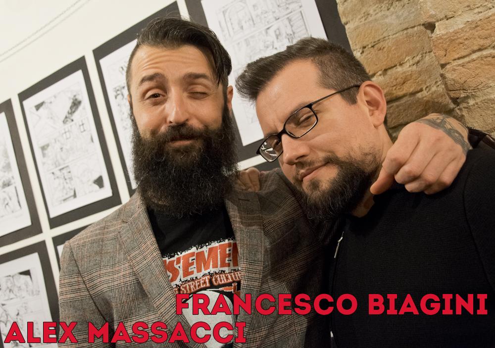 Alex Massacci e Francesco Biagini al Basement Party