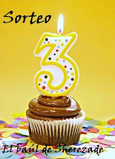 Sorteo 3º aniversario