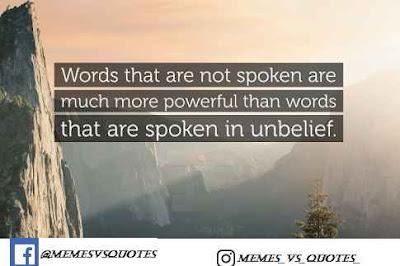 Spoken Quotes