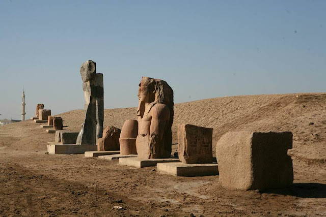 Ramses II stelae uncovered at San Al-Hagar site
