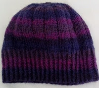 Handmade knitted hat