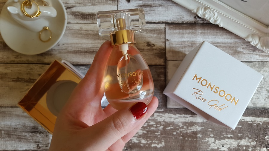 Winter Fragrances, Monsoon Rose Gold Perfume, The Style Guide Blog, Christmas Gift Guide