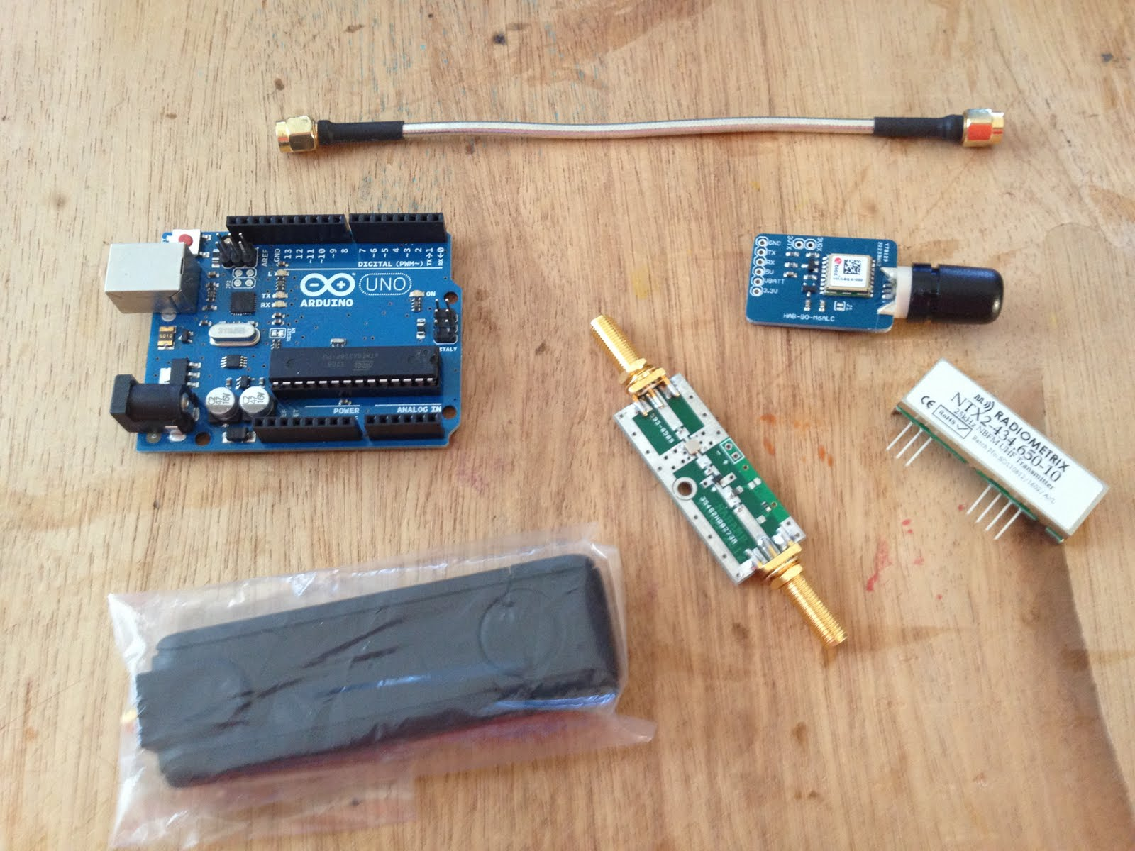 The Tracker and Radio Receiver