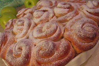 """Buhtle / Filled sponge cake """"buhtle"""""""