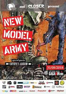New Model Army: Live @ Gagarin 205