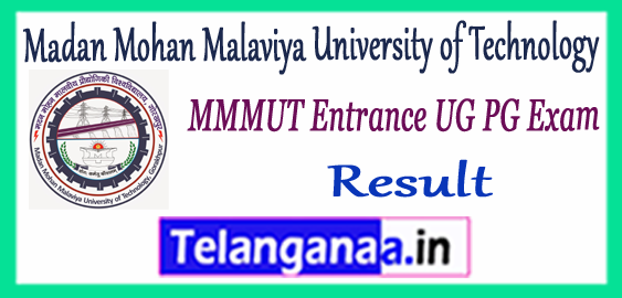 MMMUT Madan Mohan Malaviya University of Technology Admission Entrance Result 2017 Counselling