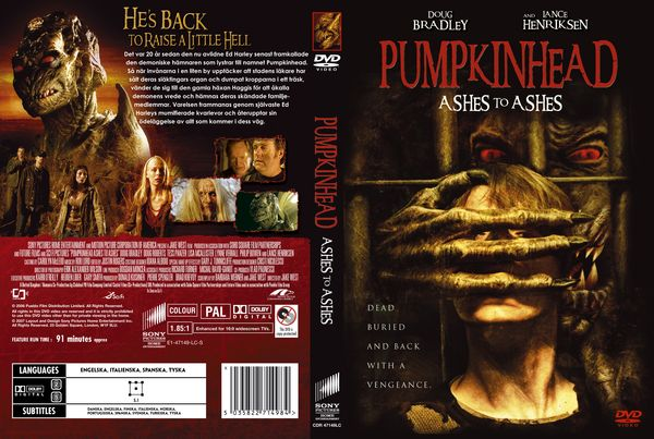 Pumpkinhead 3: Ashes to Ashes – Latino, Inglés