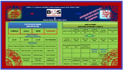 Aplikasi Laporan BOS (Silabos) Terbaru versi 2017//2018