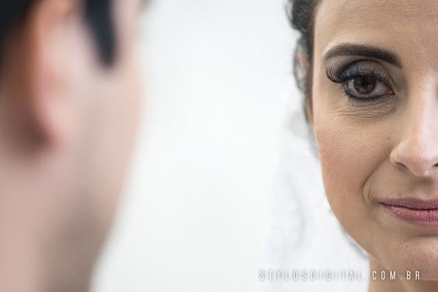 olhar de noiva