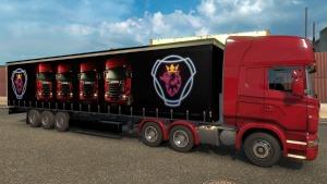 Profi Scania Trailer mod