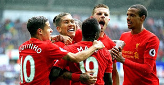 Liverpool vs Swansea Live Streaming online Today 26 -12 - 2017 Premier League