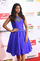 Eesha in Cute Blue Sleevelss Short Frock at Mirchi Music Awards South 2017 ~  Exclusive Celebrities Galleries 071.JPG