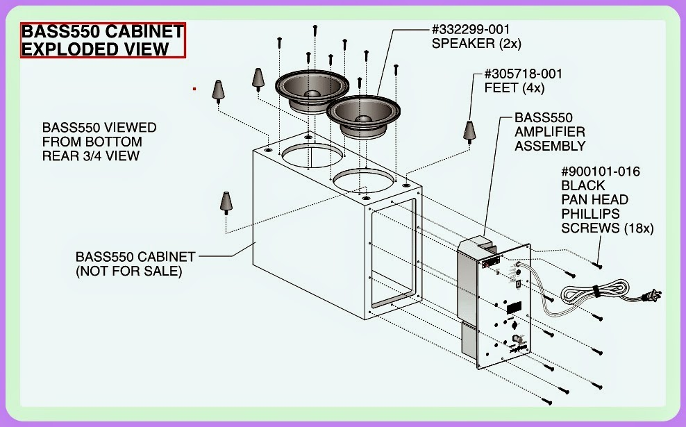 jbl bass550 subwoofer wiring diagram 1997 ford ranger