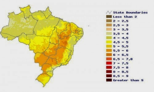 Brazil S First Solar Power Auction To Clear 500 Mw Reve