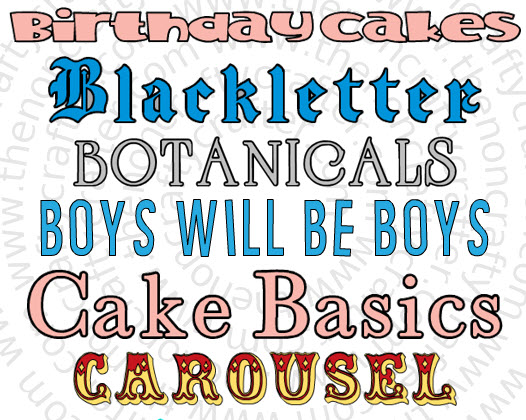 The Non-Crafty Crafter: Previews of all the fonts in Cricut Access