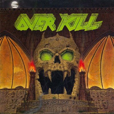 Overkill - The Years of Decay (1989) Album Art