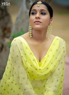 Telugu Television Actress Rashmi Gautam Latest Picture shoot In yellow dress (4)