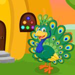 G4K Cute Peacock Rescue G…