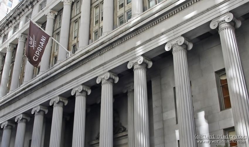 το ιστορικό κτίριο Cipriani Wall Street