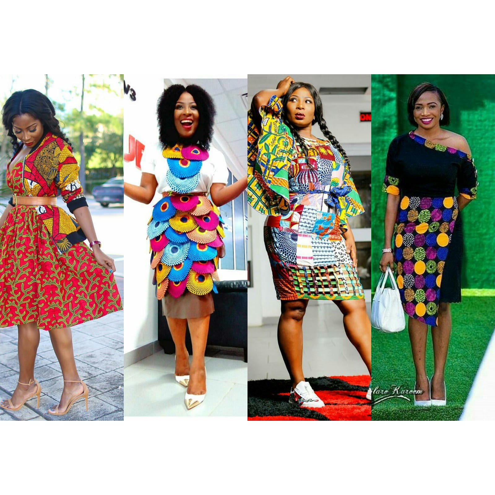 Ghanaian Celebrities Rock Your African Print In Style Fashionafriq Get Latest African
