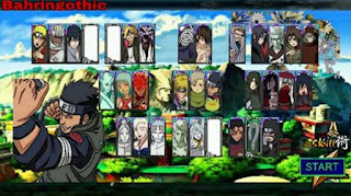 Naruto Senki Mod Apk Alpha Full Character for android