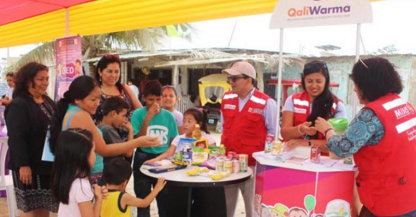 QALI WARMA: 15 sectores públicos de Tumbes se comprometen en la lucha contra la anemia - www.qaliwarma.gob.pe