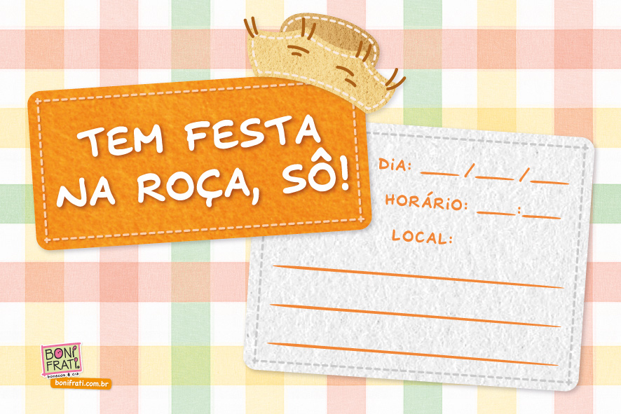 Bonifrati Convites E Bandeirinhas De Festa Junina Para Imprimir