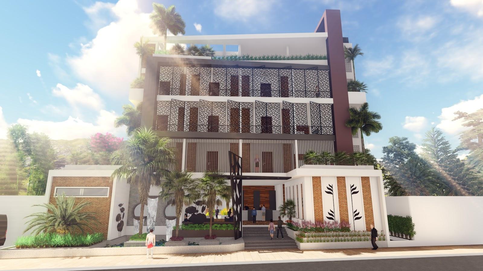 Modern Apartment Design 02 + Lumion Render + Free Sketchup Model
