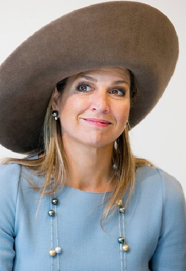 Queen Maxima of The Netherlands attended the opening of the renovated museum Ons 'Lieve Heer op Solder' in Amsterdam