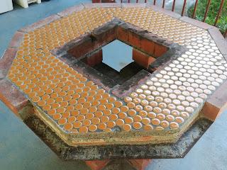 BBQテーブル修繕 滋賀のゲストハウス