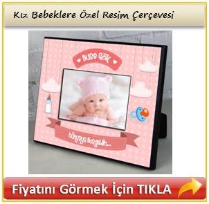 kız bebeklere özel hediye