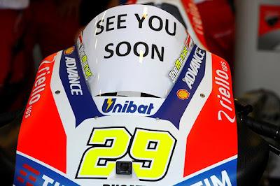 Bos Ducati Konfirmasi Iannone Comeback di GP Malaysia Pekan Ini