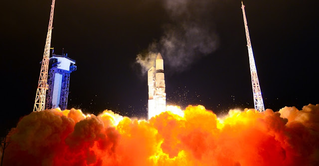 Rokot launch on November 30, 2018. Credit: Khrunichev.ru