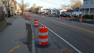 Road construction on East Central St is currently funded with a State grant