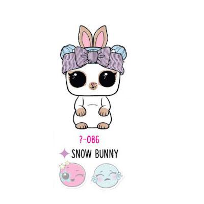 Зайчик Snow Bunny из серии 4 питомцы ЛОЛ Сюрприз