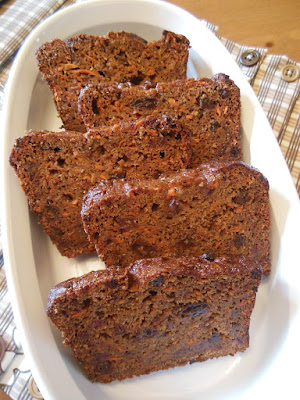 Whole Grain Baked Goods to Celebrate Valentine's Day. Carrot Raisin Banana Bread.