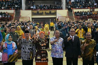 Lampung Timur Terima 721 Mahasiswa KKN Unila