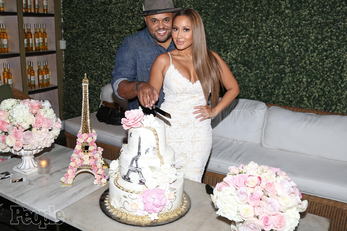 Image result for adrienne Bailon weds gospel singer Israel Houghton
