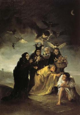 Goya, Las Brujas